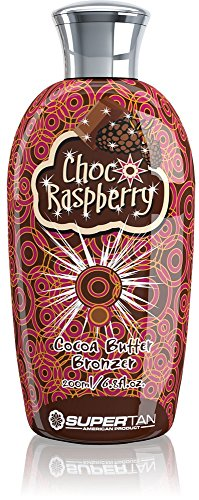SuperTan Sensations Choco and Raspberry Cocoa Butter Bronzer, 1er Pack (1 x 200 ml)
