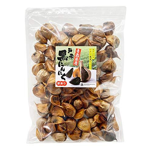 訳あり 青森農産 戸来黒にんにく 熟成 黒にんにく ( 500g / 約2か月分 ) 青森県産 福地ホワイト6片種