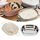 Stackable Bento Box with Stainless Steel Thermal...