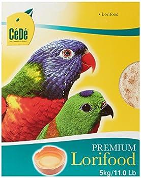 Nobby - 10087 / CéDé - Nourriture pour oiseaux - Lori - 5 x 1 kg