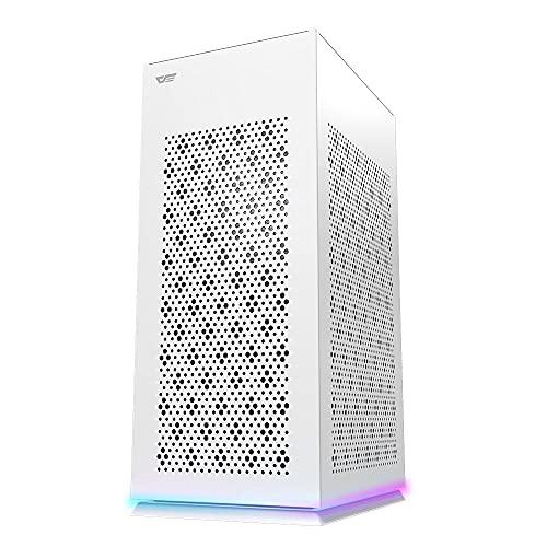 Caja PC Gaming darkFlash DLH 21 Mesh Mini ITX (White)
