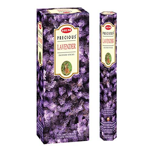 Hem Precious Lavender Incense Sticks(9.3 cm X 6.0 cm X 25.5cm, Black)