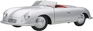 AUTOart 1948 Porsche 356 Number 1 Convertible Revised Edition Silver 1/18 Model Car 78072