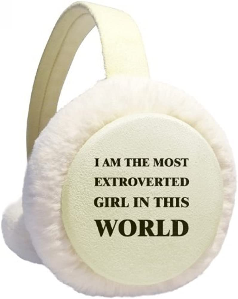 Soldering I Am The Extroverted Girl Winter Warmer Al sold out. Fle Cable Knit Ear Furry