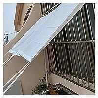 日除け シェード98% UV 日よけ シェード 防塵性耐磨耗性 防風老化防止 カーポート 屋外 サンルーム 屋根 カスタマイズ可能なサイズ ALGXYQ (Color : White, Size : 4×6m)