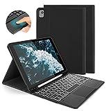 Jelly Comb - Funda con teclado táctil para iPad 10.2 2019 y 2020, iPad Air 3, iPad Pro...