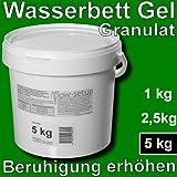 Wasserbett Gel Granulat - Vergelung von Wasserkernen in Wasserbetten, Gelbetten, Freeflow Betten...