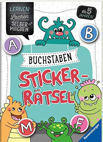 Buchstaben-Sticker-Rätsel (Lernen Lachen Selbermachen)