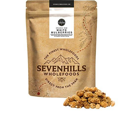 Sevenhills Wholefoods Weiße Maulbeeren Bio 500g