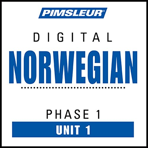 Norwegian Phase 1, Unit 01 audiobook cover art