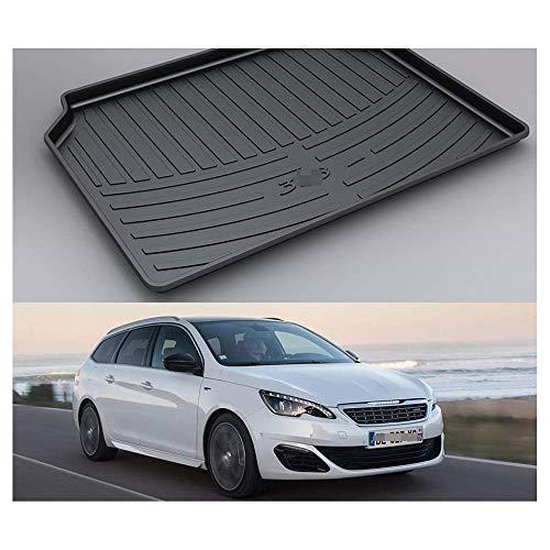 Voiture Tapis de coffre Protection anti-dérapants Tapis Interior Accessories, pour Peugeot 308 sw 2011-2019