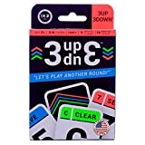 Ok2Win 3UP 3DOWN Card Game | Best Fun Family Games for Kids, Teens, Adults | 2-6 Players/Deck ● Up to 12 Players with 2 Decks ● Make Road Trips, Camping, Beach Time, Summer Camp, Family Time Exciting