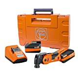 FEIN AFSC18QCSL Cordless SuperCut StarlockMax Oscillating Multi-Tool with snap-fit accessory change
