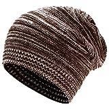 Thenice Melaleuca Bonnet en laine pour femme - Marron - Taille Unique