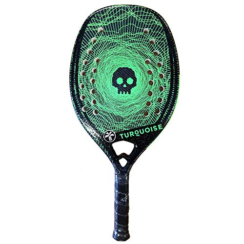 Turquoise Racchetta Beach Tennis Racket Black Death Challenge 2020 (Green)