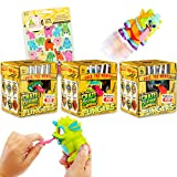 Crate Creatures Surprise Flingers 3-Pack Bundle ~ Blind Box Monster Toys with Monster Stickers (Monster Toys for Kids)