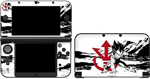 Skinit Decal Gaming Skin Compatible with 3DS XL 2015 Officially Licensed Dragon Ball Z Vegeta product image