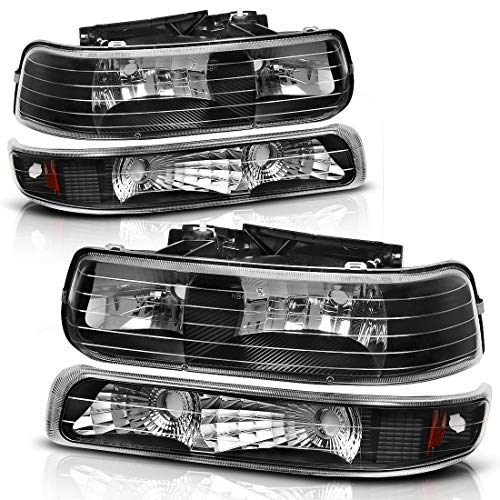 2001 chevy tahoe black headlights - 3