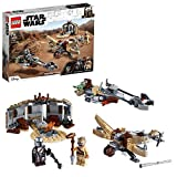 LEGO 75299 Star Wars: The Mandalorian Trouble on Tatooine Building Set with Baby Yoda The Child Figu