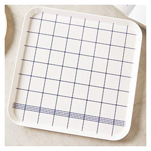 Bandeja Apilable joyería geométrica pequeña bandeja Bandeja for servir los alimentos for Gran Pantalla Organización de almacenamiento Bandeja del alimento Decoración Bandeja Antideslizante