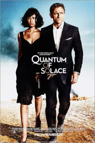 Posterlounge Cuadro de PVC 60 x 90 cm: Quantum of Solace de Entertainment Collection