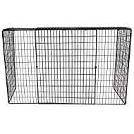 New Extendable Metal Fireplace Guard Strong metal construction keeps loved ones away from fire. Mesh design to keep curious fingers out. Extendable to fit most Fireplaces, Stoves, Wood Burners, Mantles. Easy to assemble, stores flat when not in use. ...