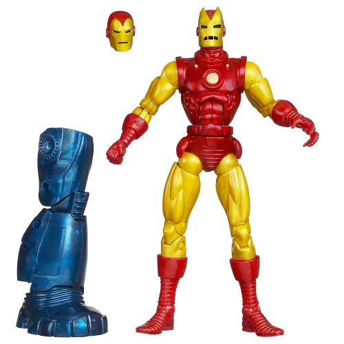 Marvel Iron Man Classic Iron Man Figure 6 Inches