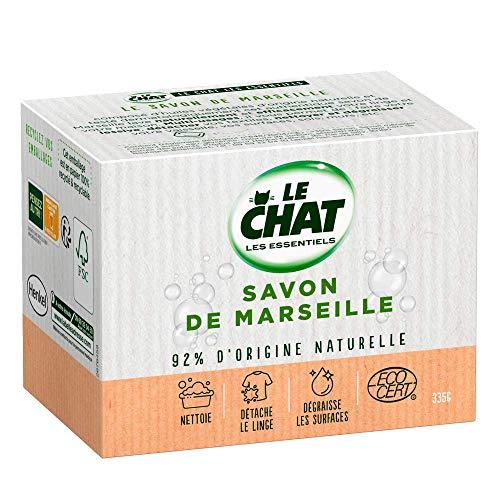 Le Chat Les Essentiels – Savon de Marseille Solide – 335g