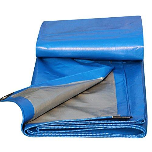 NEVY-Lona 200G / M²,Lona Alquitranada Protección Tarea Pesada Al Aire Libre Blanco Impermeable Protector Solar PVC Lonas con Ojales De Metal, Tamaño Personalizable Lona Toldo Lonas Impermeable