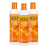Cantu Shea Butter for Natural Hair Moisturizing Curl Activator Cream, 36 Ounce, 3-pack