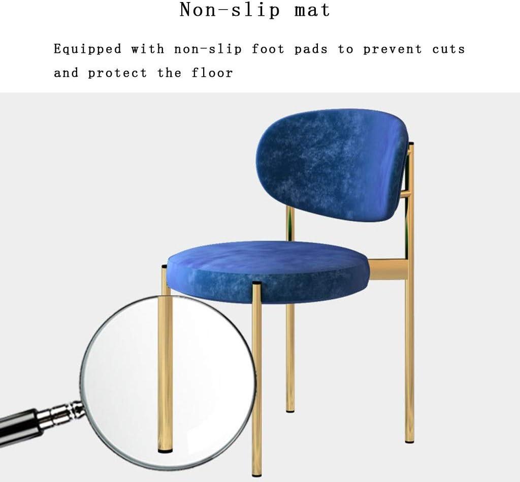 Rembourrée Assise en Velours,Salon de Loisirs Salon de Comptoir Chaise Longue de Bureau Chaise Design (Color : Yellow) Mint Green