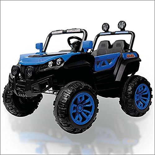 ATAA Buggy Rodeo 4x4 - Azul - Coche eléctrico para niños con...