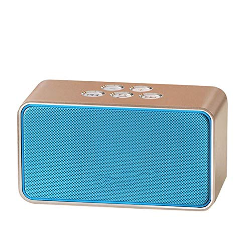 R-SOUNDBAR Mini Bluetooth Lautsprecher,20 Stunden Spielzeit Lauter Lautstärke 360°HD Surround Subwoofer Für Camping, Strand, Poolparty, Dusche, Sport Im Freien, Auch Tragbar Blau,Blue