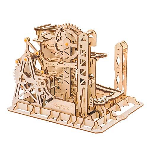 [ ロボタイム ] Robotime 木製パズル 立体パズル 3Dウッドパズル マーブルエクスプローラー LG503 Marble Run Marble Explorer クラフト おもちゃ 組み立てキット [並行輸入品]