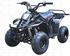 TAO TAO 110cc Gas ATV Fully Automatic ATV 4 Wheeler for KIDS - New SPORTY Black Color