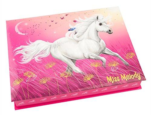 Depesche 10132 - Schreibwarenbox Miss Melody, pink