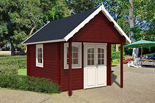 Gartenhaus mit Schlafboden Bunkie mit Schlafboden 40mm (290x300+100cm)