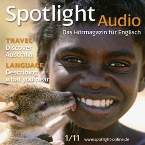 Spotlight Audio - Discover Australia. 1/2011 Titelbild