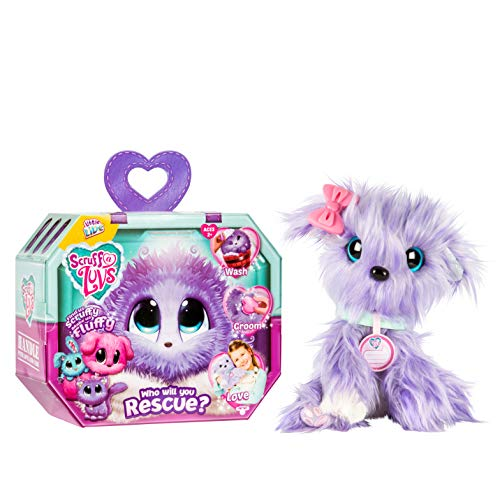 Little live Scruff-A-Luvs - Plush Rescue Pet, Lilac