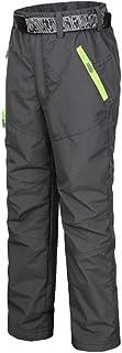 comprar comparacion DianShaoA Pantalones De Escalada para Niño Pantalón De Esquí Niña Pantalon Impermeable Trekking Softshell Pantalones Depor...