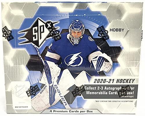 Upper Deck 2020/21 SPx Hockey Hobby Box NHL