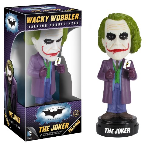 Funko Dark Knight Movie The Joker Wacky Wobbler(Discontinued by manufacturer)