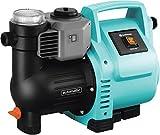 GARDENA Hauswasserautomat 3500/4E: Robuste Hauswasserpumpe, vollautomatisch, mit LED-Blinklicht-Frequenz, Fördermenge 3500 l/h, Thermoschutzschalter, Trockenlaufsicherung...