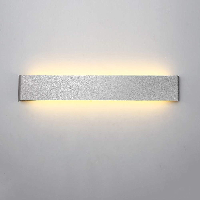 Moderne minimalistische Wandleuchte kreative Persnlichkeit Wohnzimmer Korridor Gang Hotel Nordic Schlafzimmer Nachttisch LED Dimmen Wandleuchte (Farbe   Wei-M)