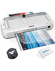 $32 » Laminator Machine with Laminating Sheets, WORKIZE Thermal Laminator, Personal 5-in-1 Desktop A4 Laminating Machine Built-in Paper Trimmer Punch and Corner Rounder for Home Office School Teacher's Gift