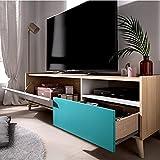 DEKIT Nova Mueble Bajo TV 1 Cajón y 1 Puerta
