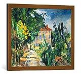 kunst für alle Bild mit Bilder-Rahmen: Paul Cézanne