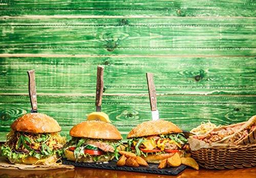 Realistische Hamburger Wandkunst Leinwanddruck Restaurant Wanddekoration Poster und drucken köstliche Lebensmittel Bilder von Küche Raumdekoration Familie rahmenlose Dekoration Gemälde A95 60x80cm
