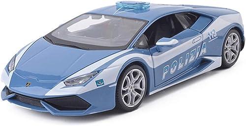 descuentos y mas KKD Escala Escala Escala Modelo Simulación Vehículo Modelo azul del coche Lamborghini LP610 Modelo de coche deportivo 1 24 Modelo de juguete modelo de fundición a presión proporcional modelo de decoración de regalo  Centro comercial profesional integrado en línea.