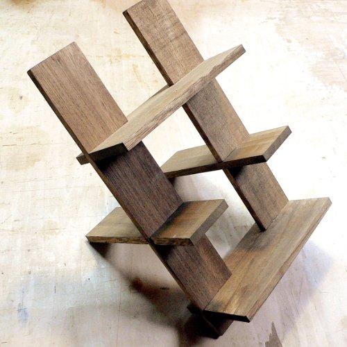 木製 ワインラック 3本用 ワインラベルが見える 横置き3段式